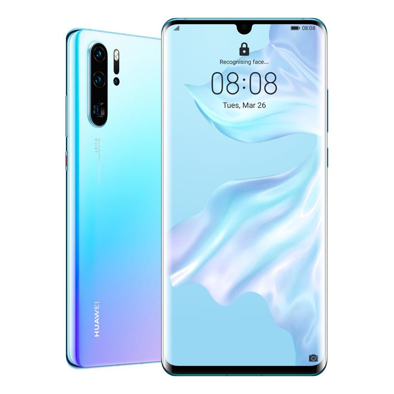 Huawei P30 Pro (Dual SIM 4G/4G, 256GB/8GB) - Breathing Crystal