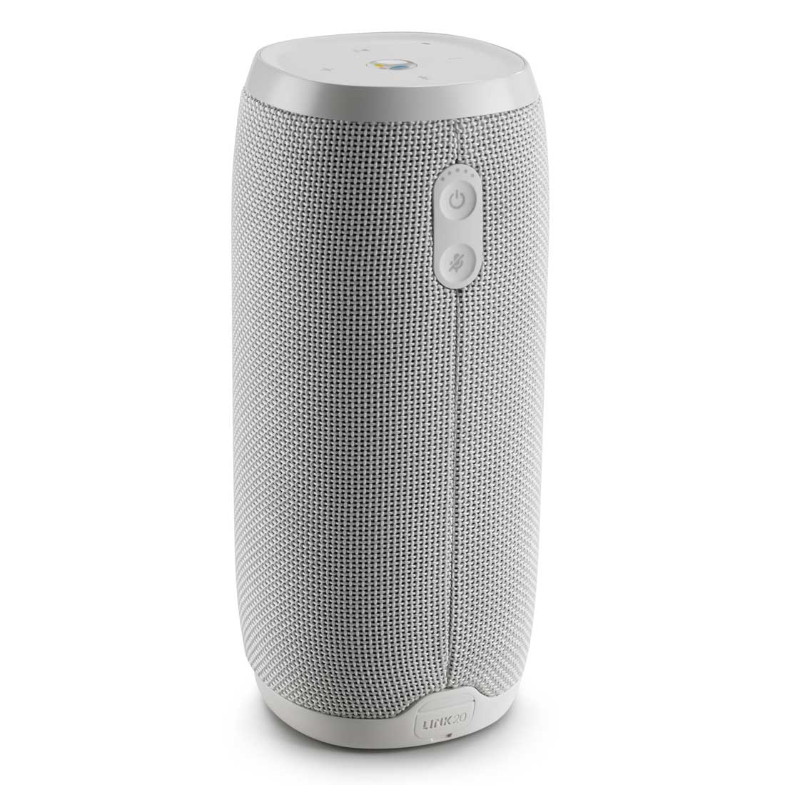 JBL Link 20 Voice Activated Waterproof Wireless Portable Speaker - White