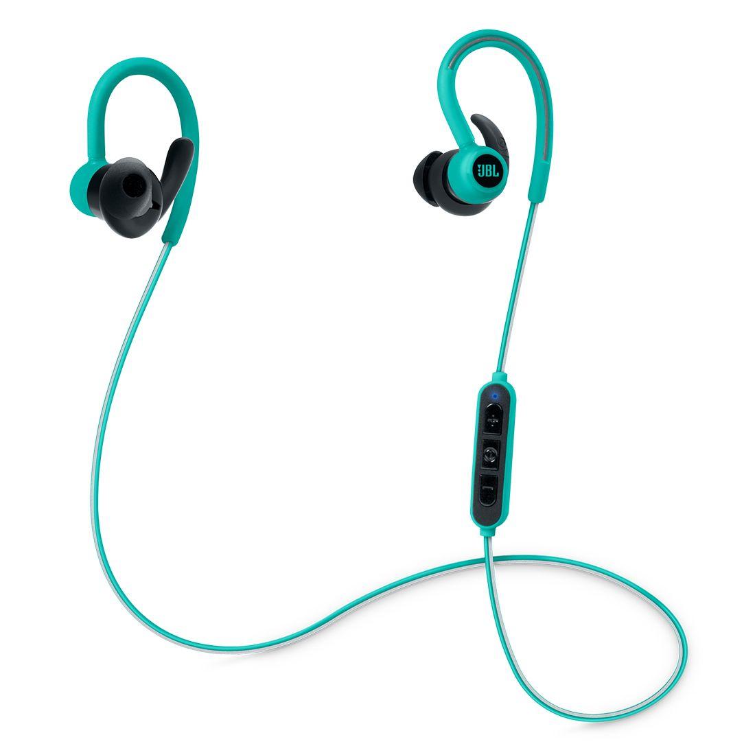 JBL Reflect Contour Wireless Sport In-Ear Headphones - Teal