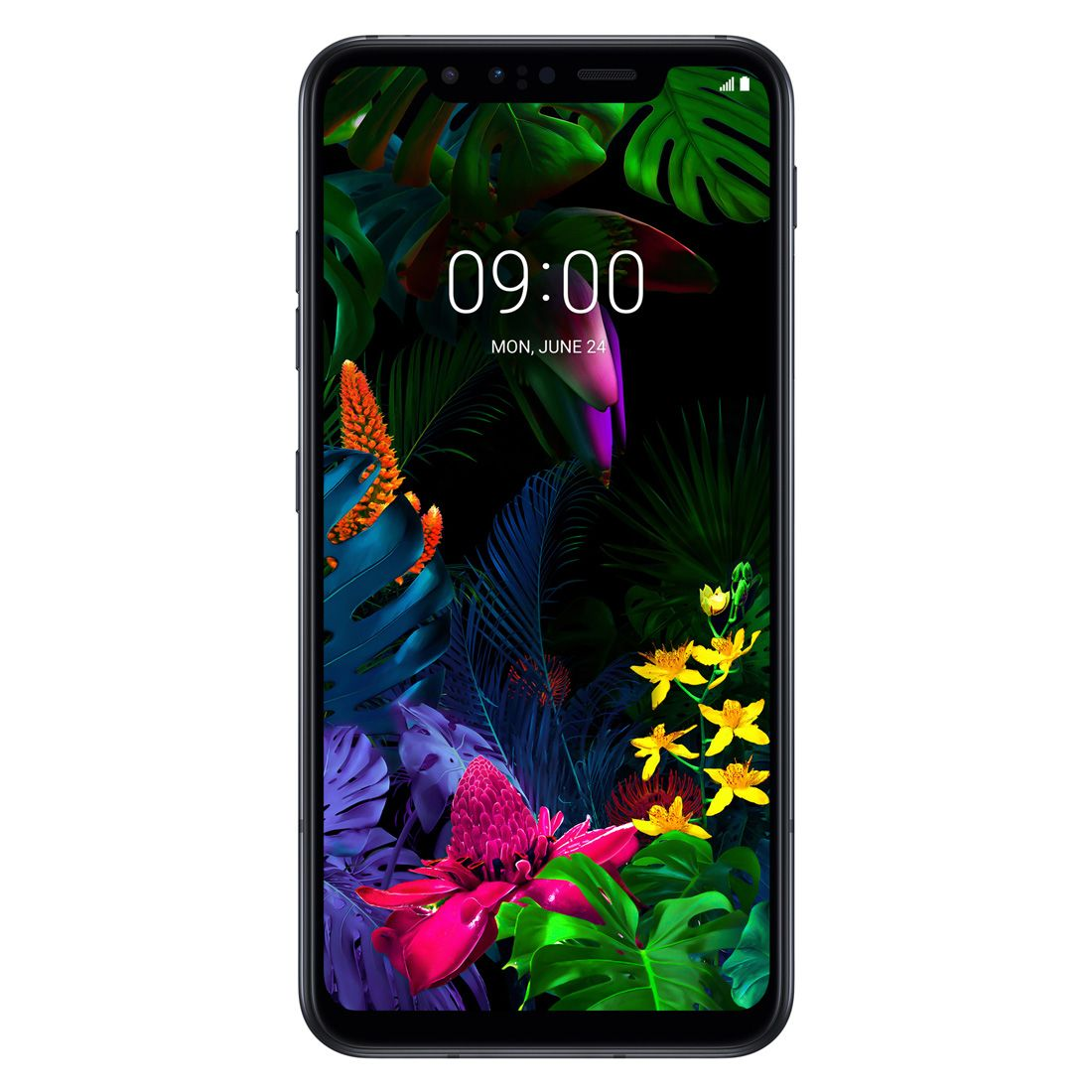 LG G8s ThinQ (Dual Sim 4G/4G, 128GB/6GB) - Mirror Black
