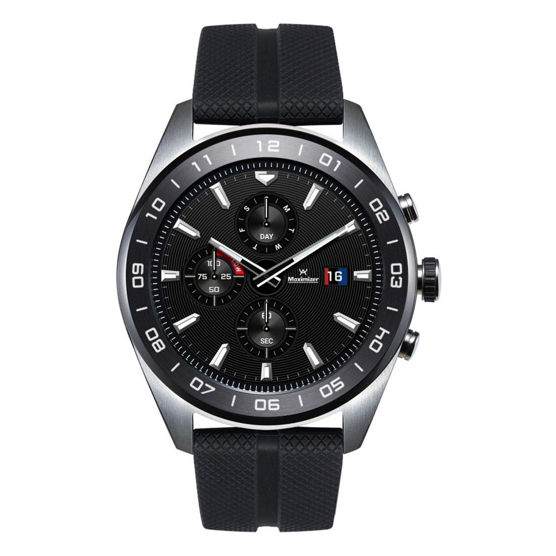 LG Watch W7 W315 Stainless Steel - Silver Black