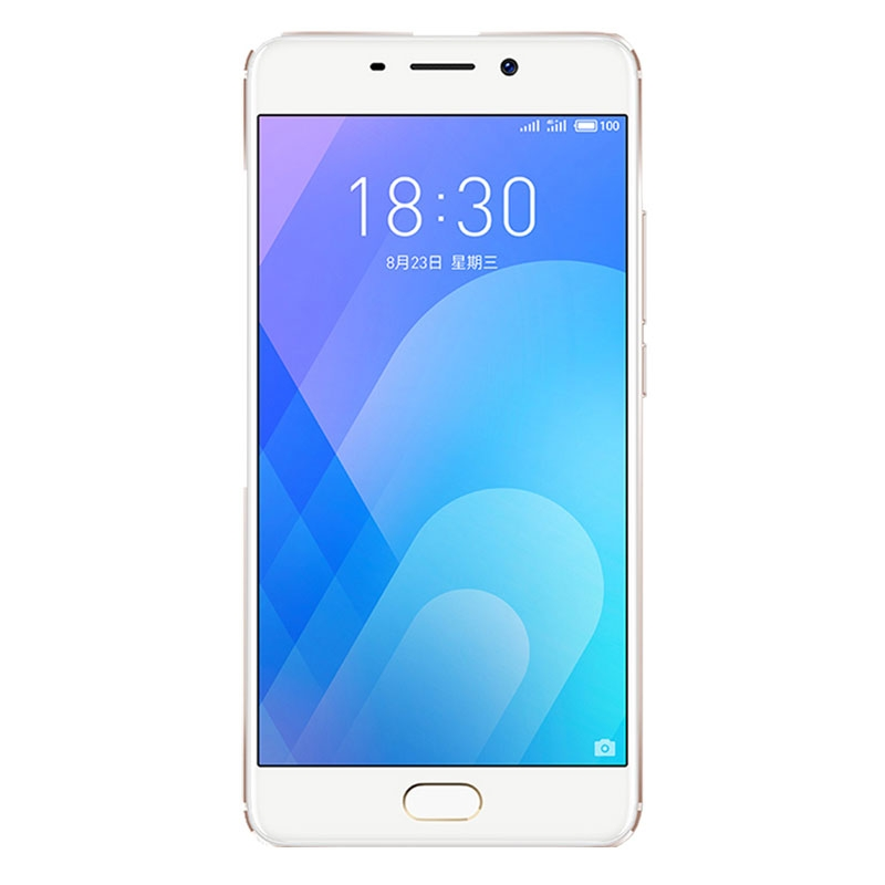 "Meizu M6 Note (5.5"", Dual 12MP, Dual Sim 4G/3G, 32GB/3GB, 4000mAh) - Gold"