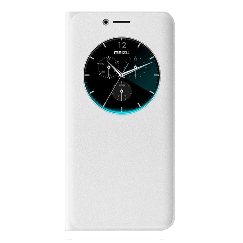 Meizu M6 Note Loop Jacket Protective Case - White