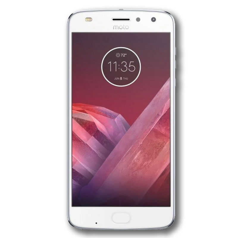 "Motorola Moto Z2 Play (5.5"", Dual Sim 4G/3G, 64GB/4GB) - Nimbus Blue"