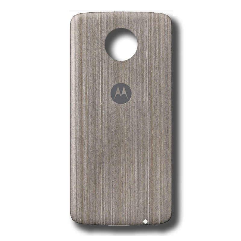 Motorola Moto Style Shell for Moto Z/Z Play/Z2 Play - Silver Oak