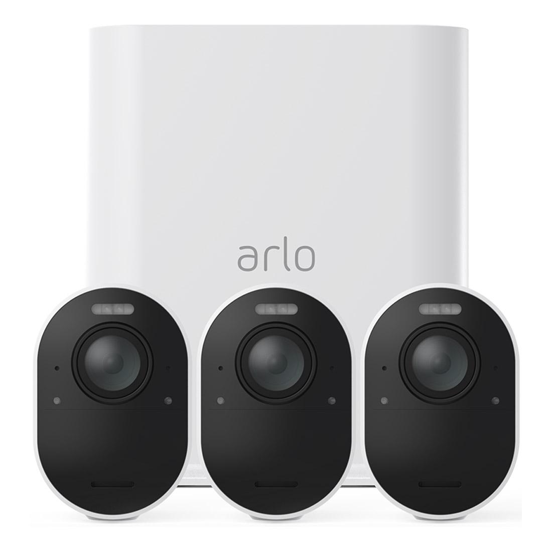 Arlo Ultra 4K UHD Security System VMS5340 - 3 Cameras
