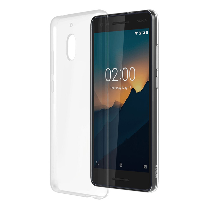 Nokia 2.1 Slim Case - Clear