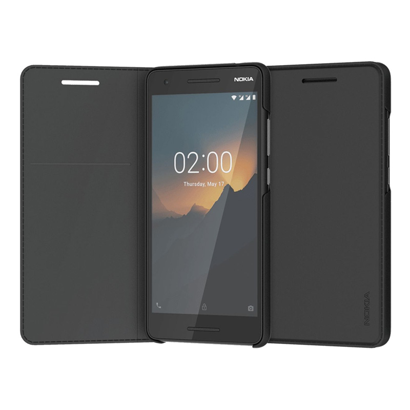 Nokia 2.1 Entertainment Flip Cover - Black