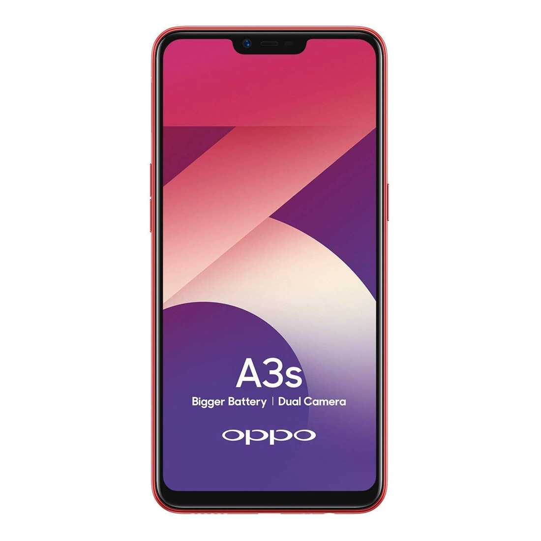 [CPO - As New] OPPO A3s (Dual Sim 4G/3G) - Red
