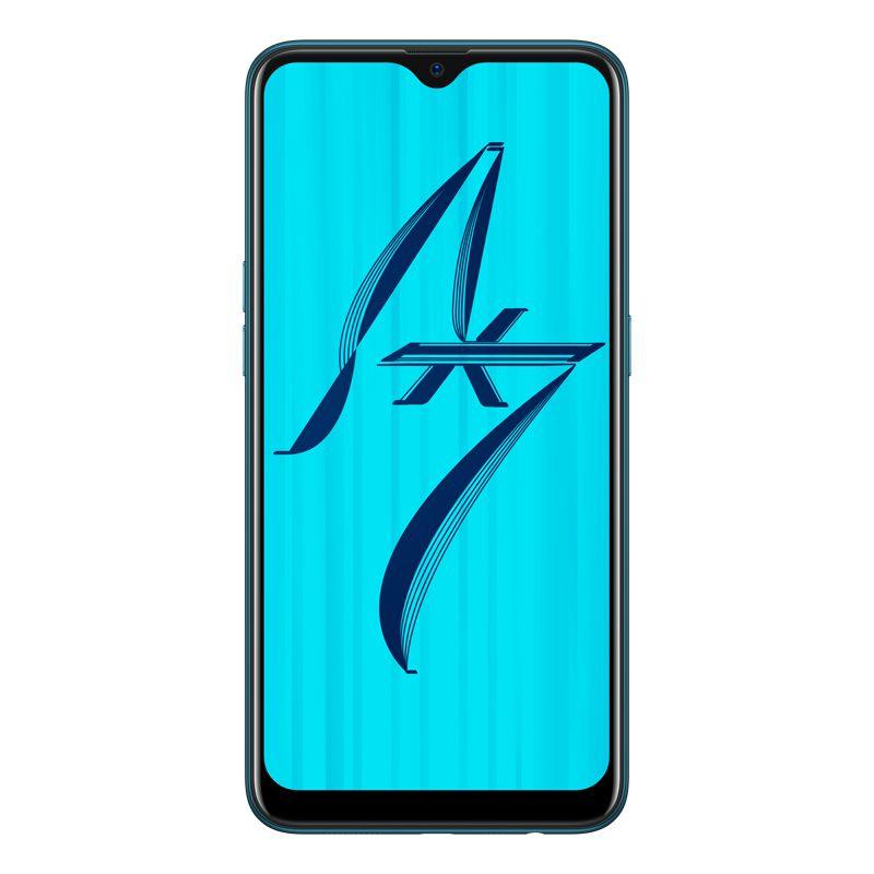[Open Box - As New] OPPO AX7 (Single SIM, Opt) - Glaze Blue