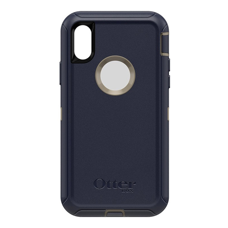 Otterbox Defender Case for Apple iPhone Xs / X - Dark Lake Blue
