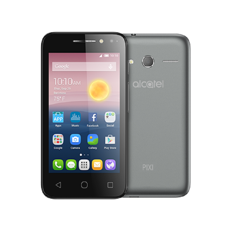 "Image of Alcatel OneTouch Pixi 4 3.5"" 4017X (3G, Opt) - Black - 4894461349602"