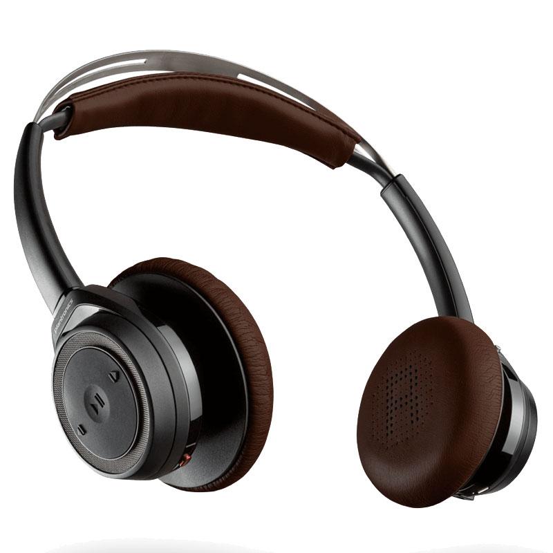 Plantronics Backbeat Sense Wireless Headphone Black
