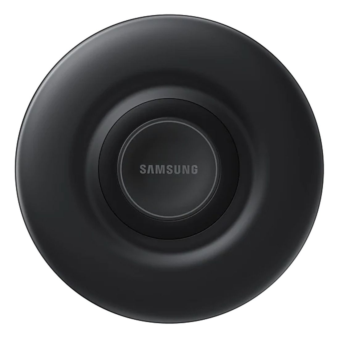 Samsung 9W Fast Charge Round Wireless Charger Pad EP-P3105TBEGAU (For iOS/Andoriod) - Black
