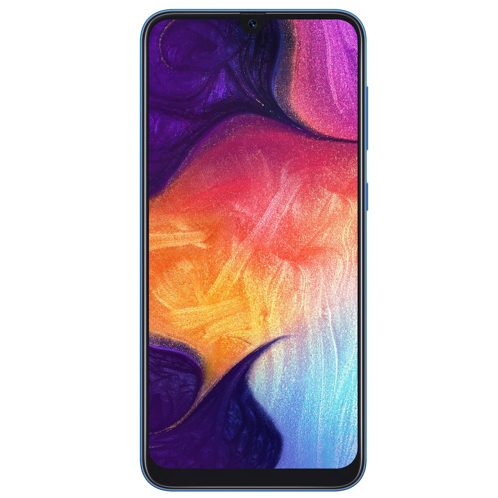 "Samsung Galaxy A50 (6.4"", 25MP, 64GB/4GB) - Blue"