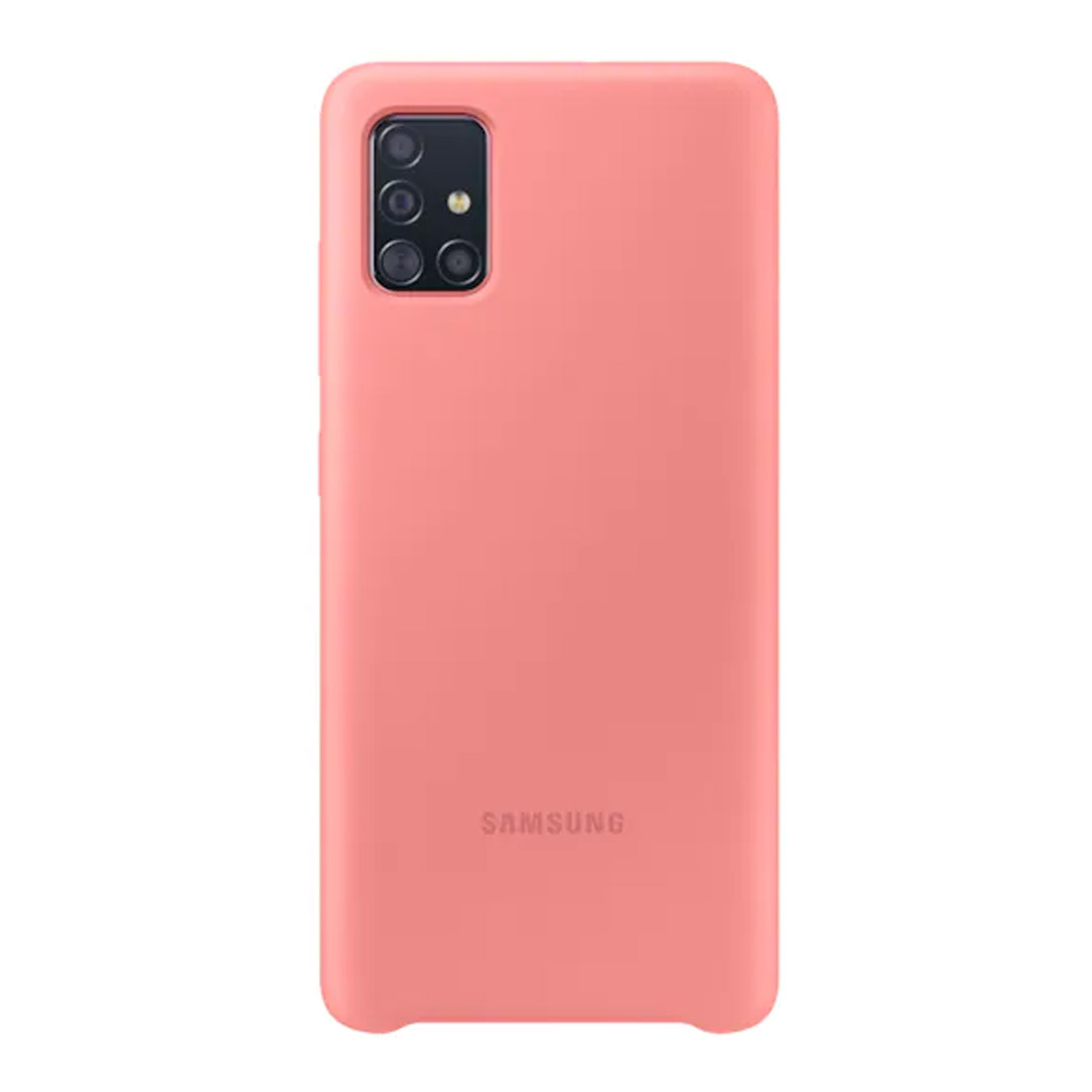 Samsung Galaxy A51 Silicone Cover - Pink