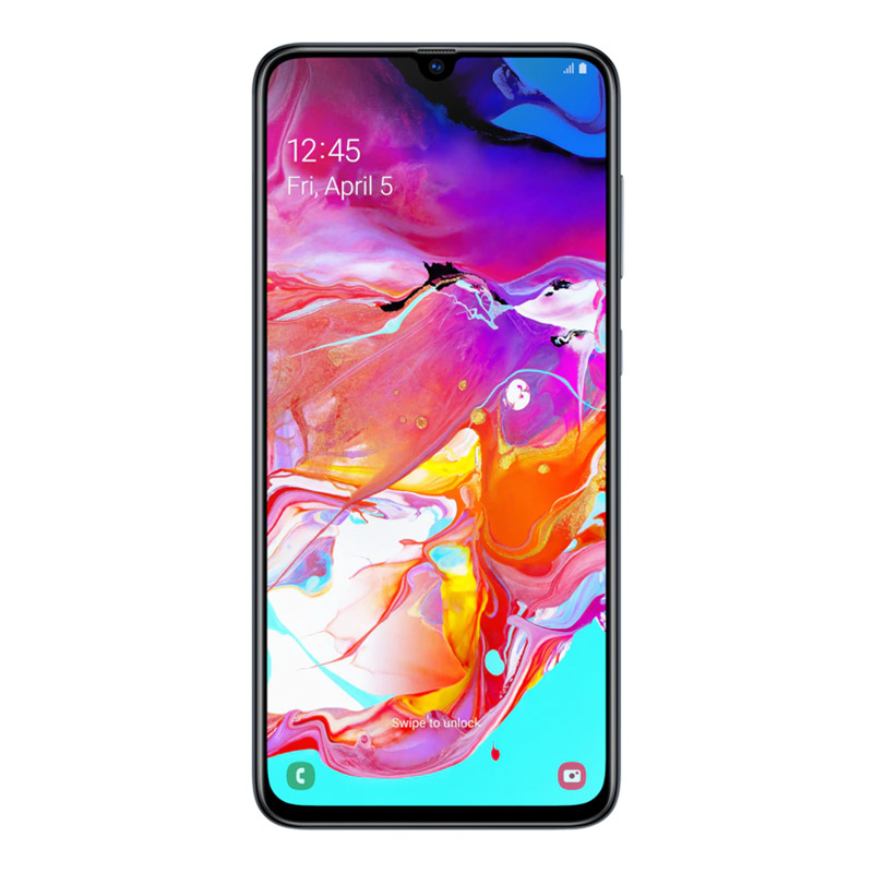 "Samsung Galaxy A70 (6.7"", 32MP, 4500mAh, 128GB/6GB) - Black"