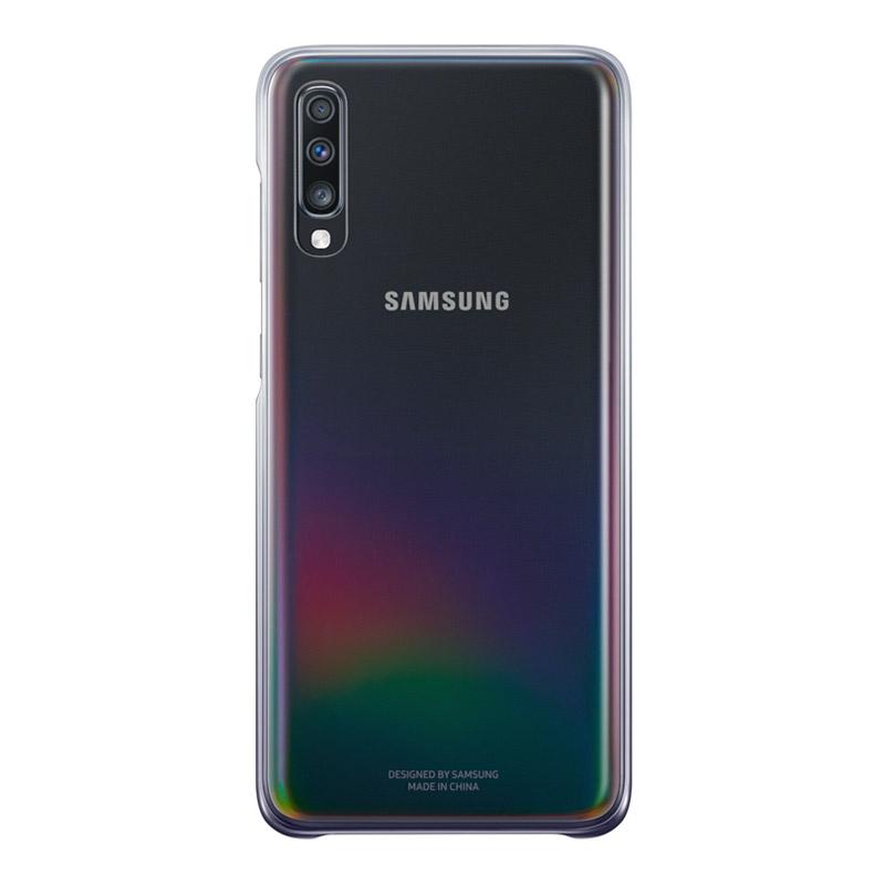 Samsung Galaxy A70 Gradation Cover - Black
