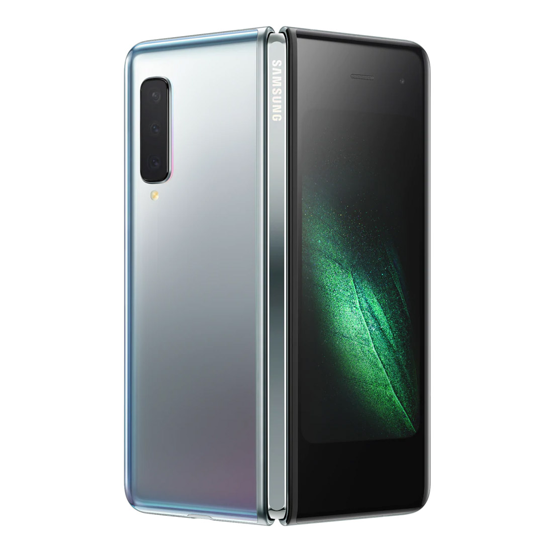 "[Open Box - As New] Samsung Galaxy Fold (7.3"" Flex Display, 512GB/12GB) - Silver"