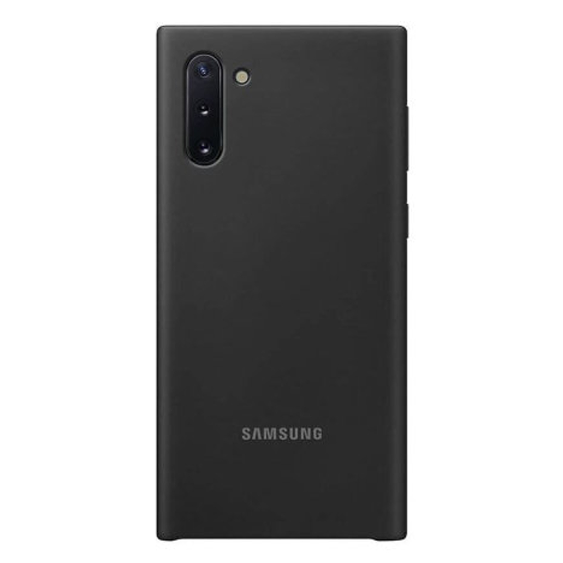 Samsung Galaxy Note 10 Silicone Cover - Black