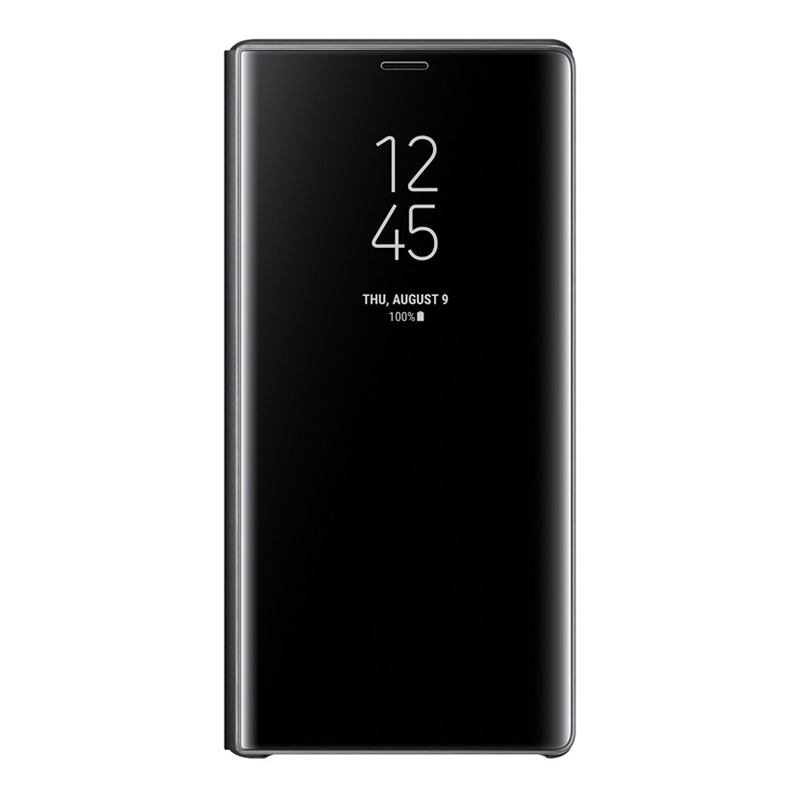 Samsung Galaxy Note 9 Clear View Standing Cover - Black