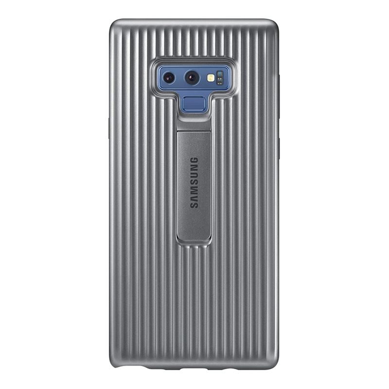 Samsung Galaxy Note 9 Protective Standing Cover - Silver