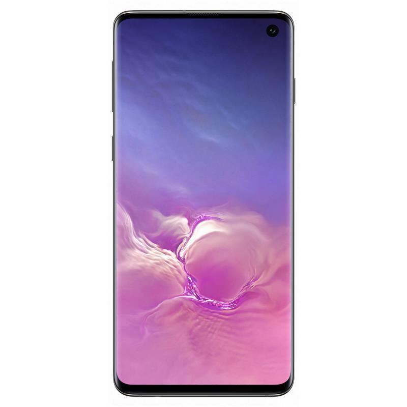 "Samsung Galaxy S10 (4G/LTE, 6.1"", 128GB/8GB) - Prism Black"