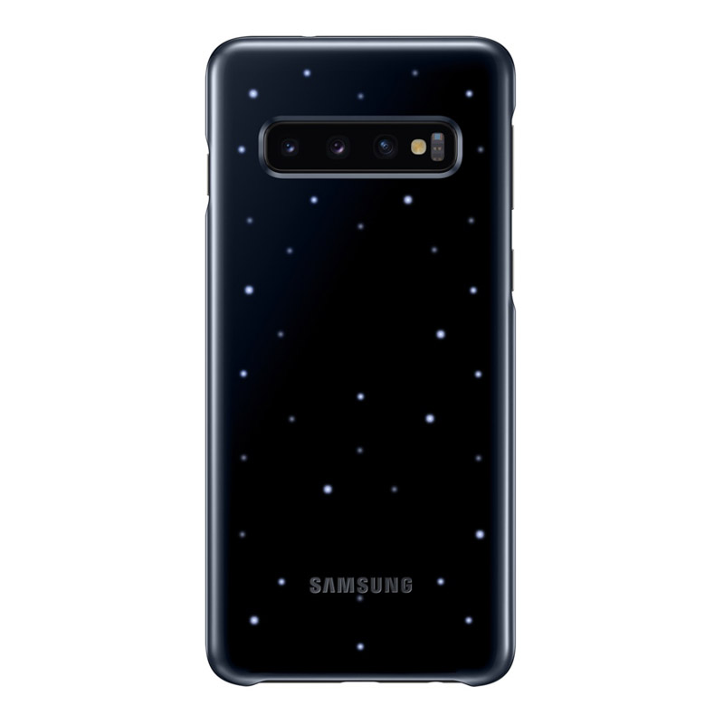 Samsung Galaxy S10 LED Back Cover - Black