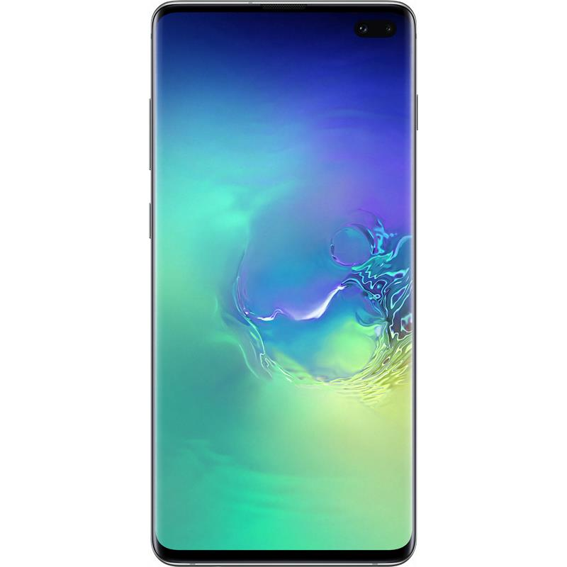 "Samsung Galaxy S10+ Plus (4G/LTE, 6.4"", 128GB/8GB, Opt) - Prism Green"