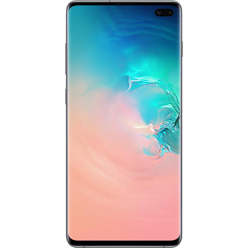 "Samsung Galaxy S10+ Plus (6.4"", 128GB/8GB) - Prism White"
