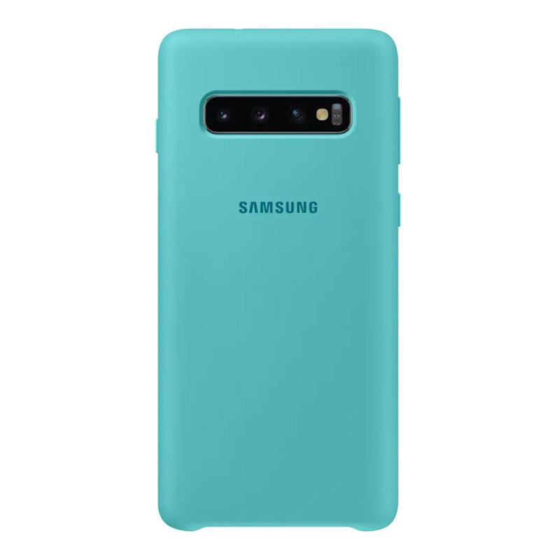 Samsung Galaxy S10 Silicone Cover - Green