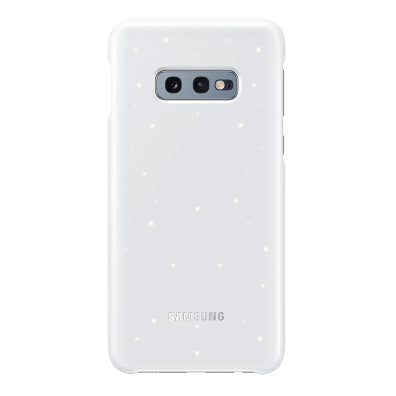Samsung Galaxy S10e LED Back Cover - White