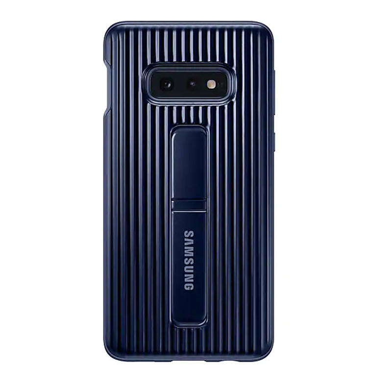Samsung Galaxy S10e Protective Standing Cover - Blue