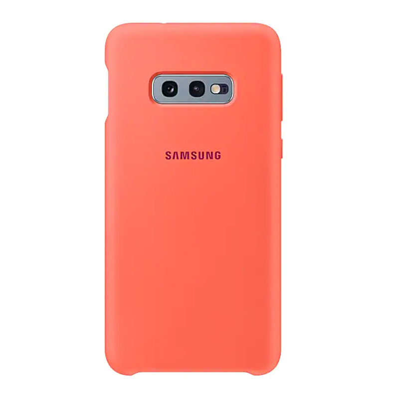 Samsung Galaxy S10e Silicone Cover - Berry Pink