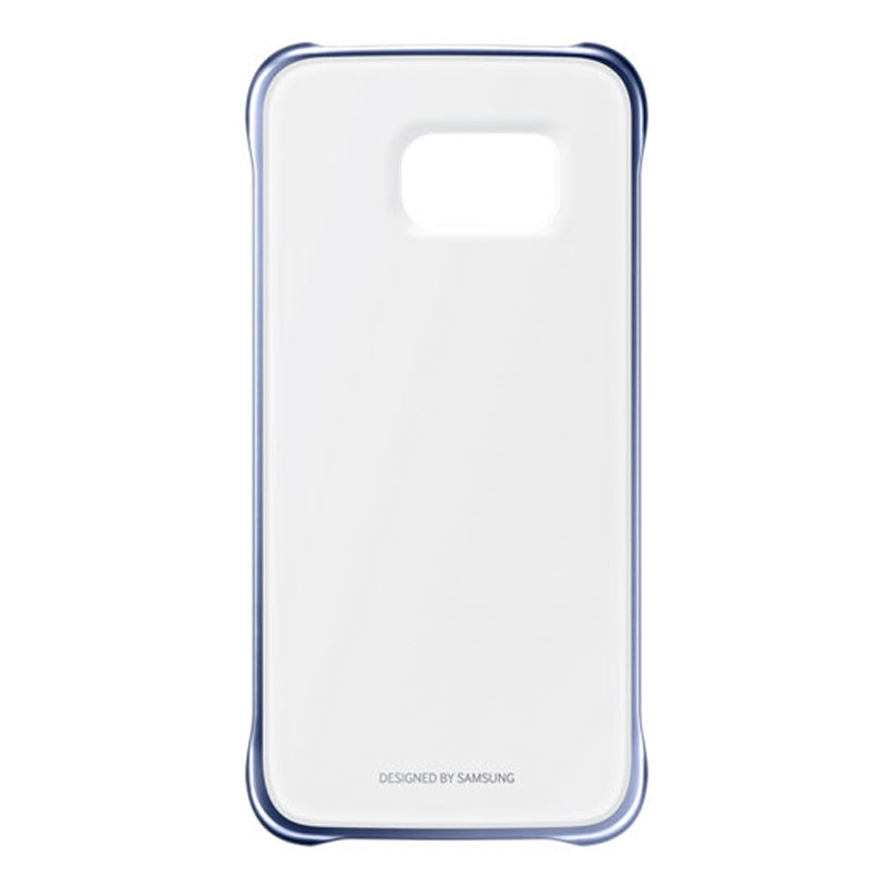 Samsung Galaxy S6 Clear Cover - Blue