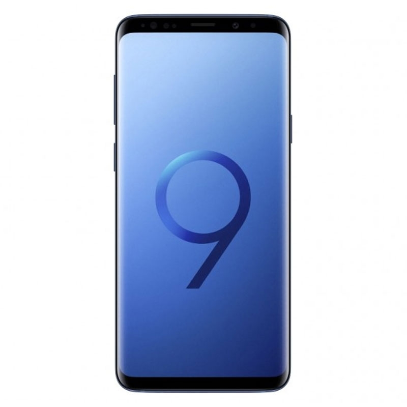 "Samsung Galaxy S9+ Plus G965F (64GB/6GB, 6.2"", Dual 12MP) - Coral Blue"