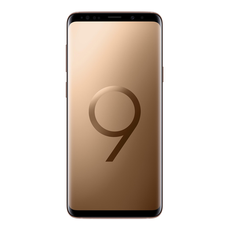 "Samsung Galaxy S9+ Plus G965F (64GB/6GB, 6.2"", Tel) - Sunrise Gold"