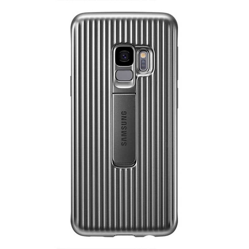 Samsung Galaxy S9 Protective Standing Cover - Grey