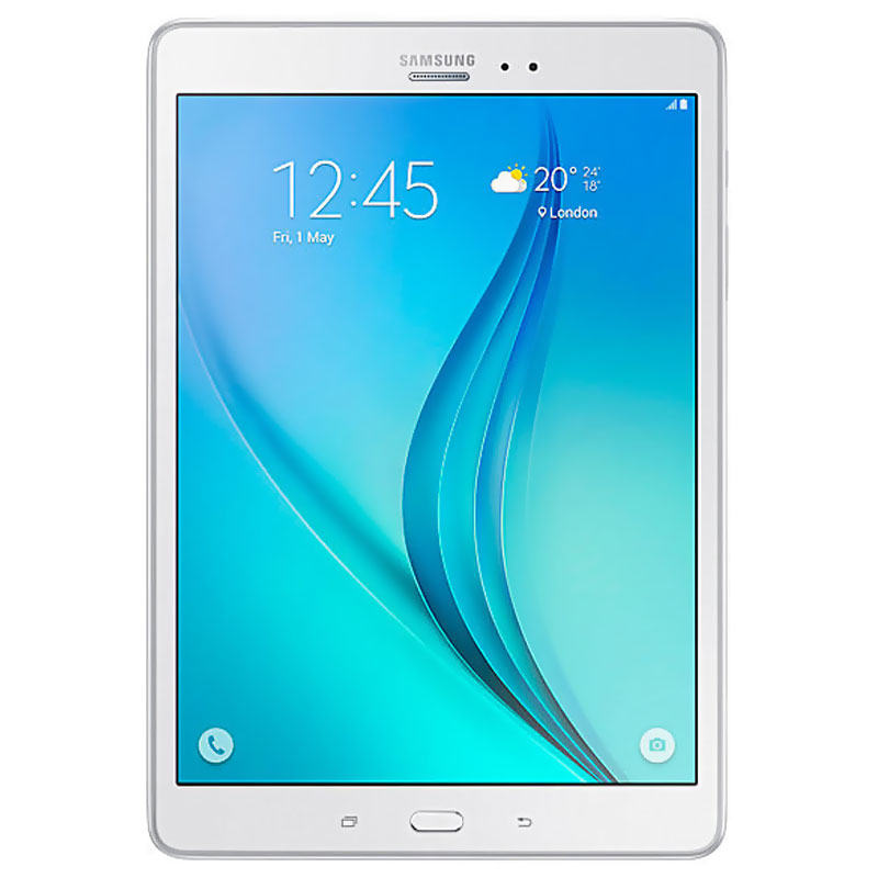 "[Good Condition - Pre Owned] Samsung Galaxy Tab A T355Y (8.0"", 4G/LTE, Opt) - White"