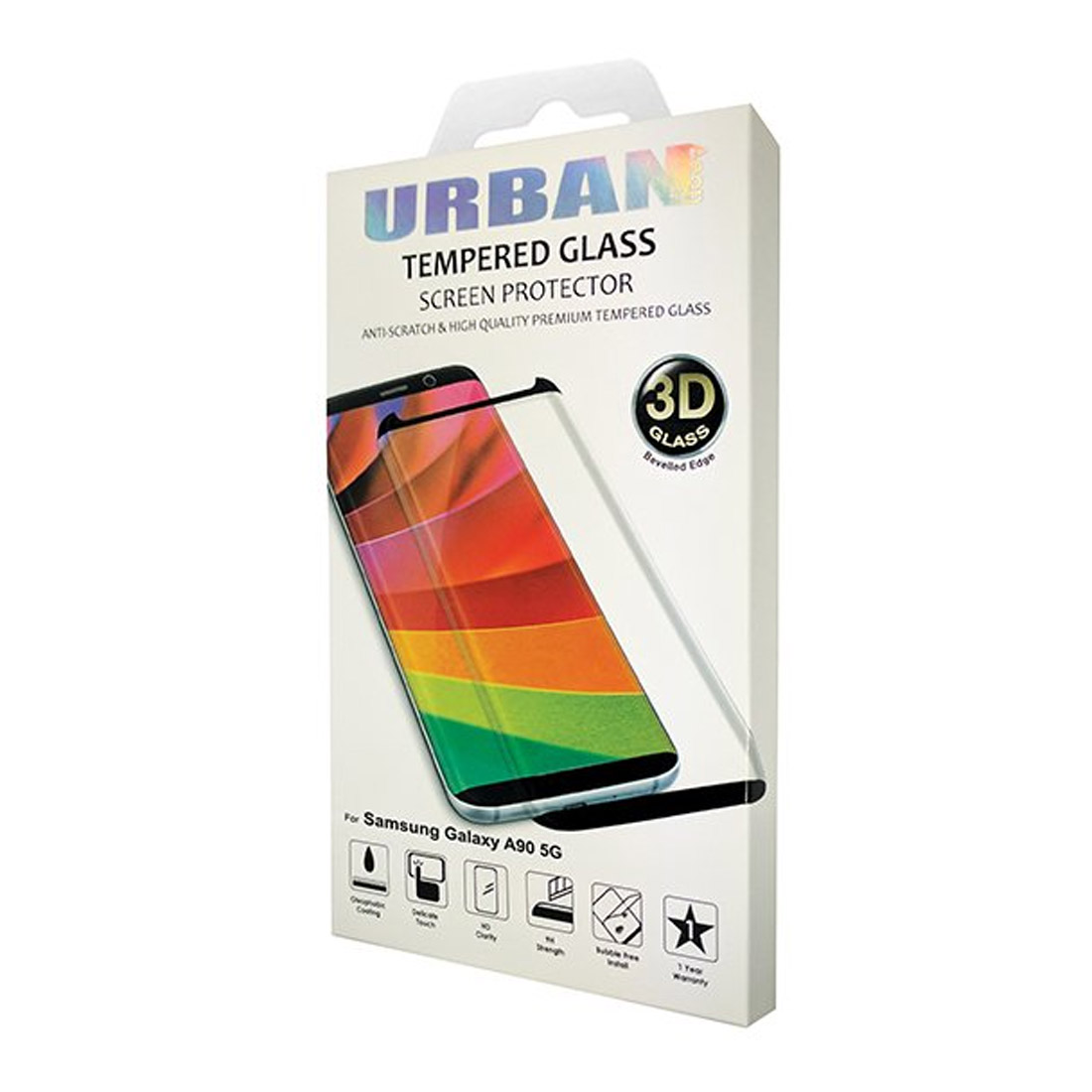 Urban Glass Screen Protector For Samsung A90 5G