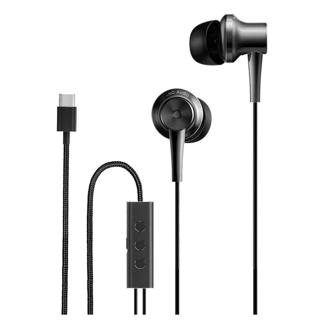 Xiaomi Mi Noise Cancelling Type-C Earphones - Black