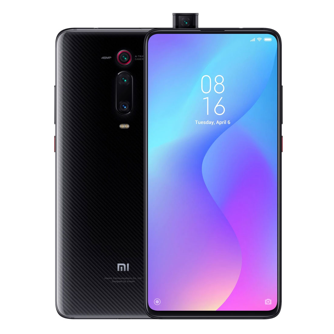 Xiaomi MI 9T (Dual Sim 4G/4G, 128GB/6GB, 48MP) - Carbon Black