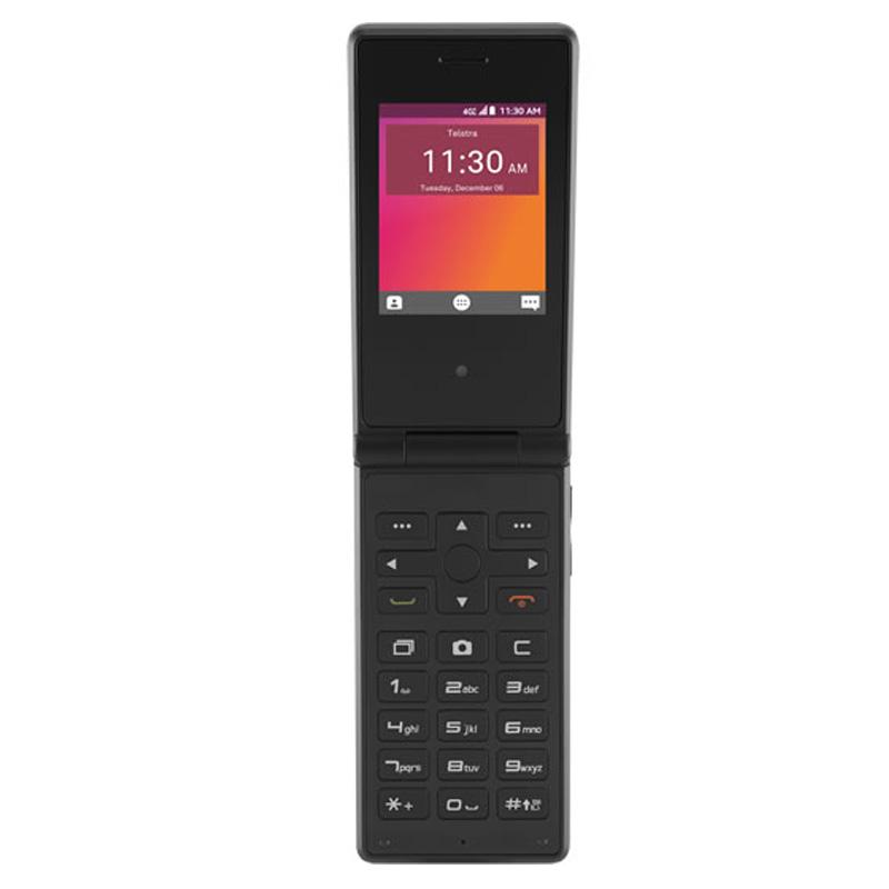 ZTE Flip 2 T21 (4G/LTE, Flip Phone , Tel) - Black